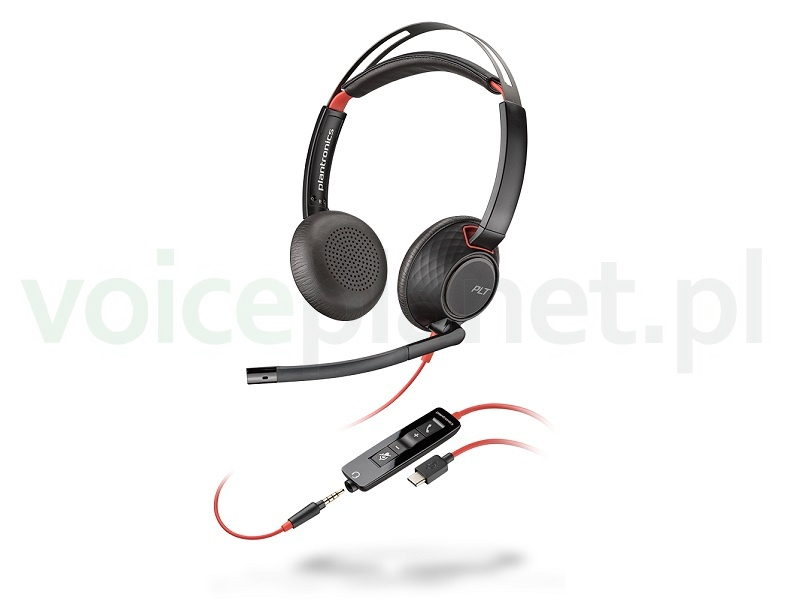 Podłączenie zestawu słuchawkowego plantronics